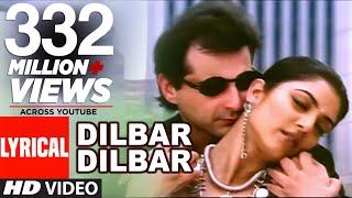 Download Dilbar Dilbar Lyrical Video | Sirf Tum | Sushmita Sen, Sanjay Kapoor Video