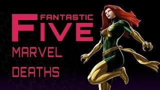 Download 5 Most Memorable Marvel Comics Deaths - Fantastic Five Video