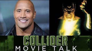 Download Shazam and Black Adam with The Rock Will Be Two Stand Alone Movies - Collider Movie Talk Video