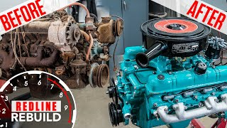 Download Buick Nailhead V-8 engine rebuild time-lapse: from rusty to roaring | Redline Rebuilds - S3E3 Video