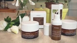 Download Skin Transforming Results With Korres Castanea Arcadia Video
