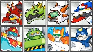 Download Dino Robot Corps + Rescue Bots - Full Game Play - 1080 HD Video
