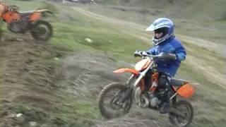 Download Enduro Antonio Bambino a Cancellara con Ktm 65 sx sellata Video