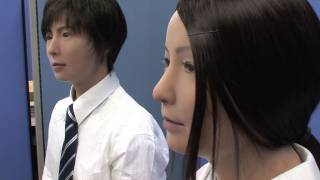 Download Incredibly realistic male and female android robots from Japan - Actroid-F #DigInfo Video