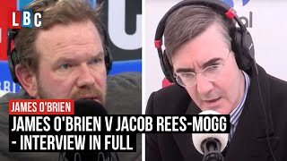 Download James O'Brien v Jacob Rees-Mogg On Brexit - Interview In Full - LBC Video