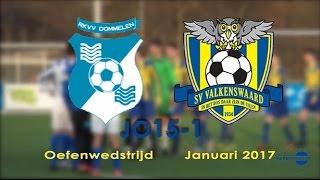 Download SV Valkenswaard JO15-1 Dommelen Januari 2017 Video