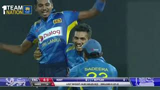 Download Sri Lanka beat England by 219 runs - 5th ODI Highlights Video