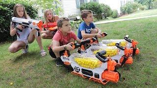 Download Nerf War: Babysitter 3 Video
