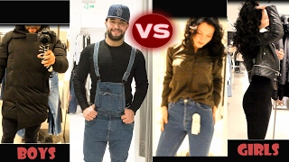 Download vlog 18 # Clothes -Girls VS Boys / Shopping Time !! Video