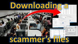 Download Downloading a scammer's files [Re-upload] Video