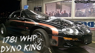 Download DYNO KING! 1781whp Turbo Camaro Wins Dyno Wars Video