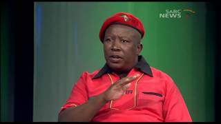 Download EFF leader Julius Malema on Question Time Video