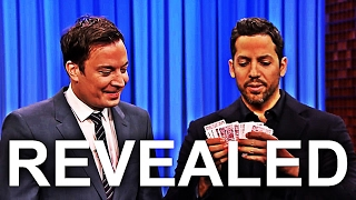 Download David Blaine: Jimmy Fallon 2016 Insane Trick REVEALED Video
