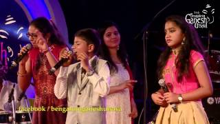 Download 'Bangaradinda' by Supriya Joshi, Ganesh & Ankita Kundu @ 54th Bengaluru Ganesh Utsava..!!! Video