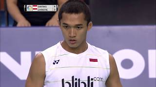 Download Victor Korea Open 2017 | Badminton F M3-MS | Anthony Sinisuka Ginting vs Jonatan Christie Video