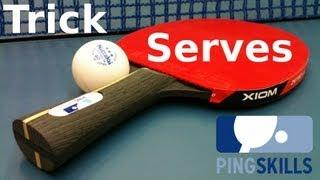 Download Table Tennis Trick Serves by PingSkills - Yeesss! Video