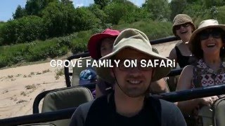 Download Grové Family on Safari in Mashatu, Botswana. January 2016 (Video) Video