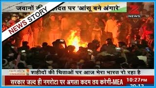 Download Reports on the final tribute paid to martyr's of Nagrota attack Video
