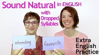 Download Speak English More Naturally: Dropped Syllables Video
