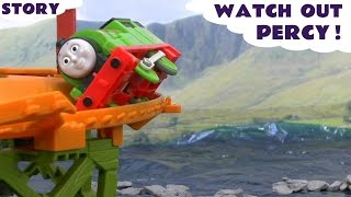 Download Thomas The Train Play Doh Minions Crash Accident Story Watch Out Percy Play-Doh Thomas Toys Video