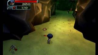 Download I-ninja PS2 gameplay Ride the Logs - Find the red coinage.ASF Video