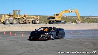 Download McLaren 675LT Spider finding the Pirelli Trofeo R tires grip limit Video