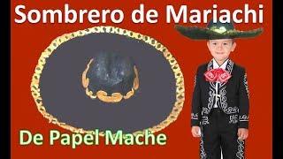 Download COMO HACER UN SOMBRERO | SOMBRERO CHARRO | MARIACHI | RECICLAJE LMI Video