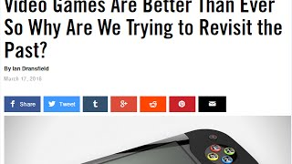 Download Why Play Retro Video Games When New Ones Are Better?! - #CUPodcast Video