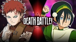 Download Gaara VS Toph (Naruto VS Avatar) | DEATH BATTLE! Video