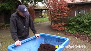 Download Ecolawn Eco 250-compoststrooier Video