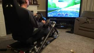 Download Homemade PVC race seat with working brake lights Video