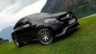 Download 2016 Mercedes Benz AMG GLE 63 S COUPE FIRST DRIVE REVIEW Video