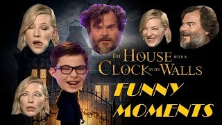 Download The House with a Clock in its Walls Cast is HILARIOUS and FUNNIEST Video