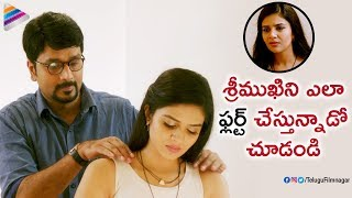 Download Srinivas Avasarala Flirts with Sreemukhi | Babu Baga Busy Latest Telugu Movie | Tejaswi Madivada Video