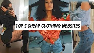 Download TOP 5 PLACES TO SHOP ONLINE | SHOPPING HACKS TO SAVE MONEY Video