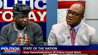 Download Security Analyst, Lawyer Question IGP's Inclusion In Police Decentralisation Cmte. Pt.1 Video