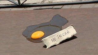 Download ¿Se puede freír un huevo en plena calle? Video