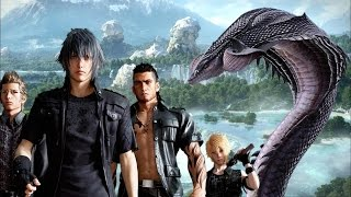Download Final Fantasy XV: Fighting a Midgardsormr Video