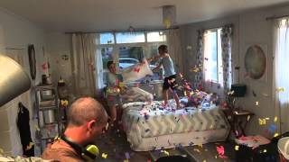 Download TV2 BRAND Pillow fight 6 Behind the scenes. Video