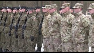 Download U.S. NATO troops surge in Europe after Russian aggression Video