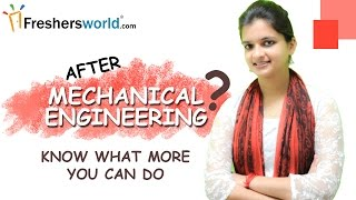 Download After Mechanical Engineering ? – Know what more you can do Video