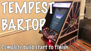 Raspberry Pi Bartop Arcade running Dragons Lair and Space