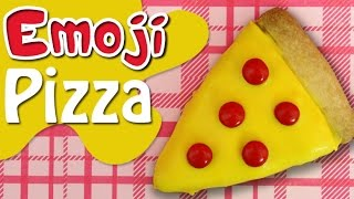 Download PIZZA EMOJI COOKIES Fun Kids Baking - bake kawaii biscuits with charliscraftykitchen Video