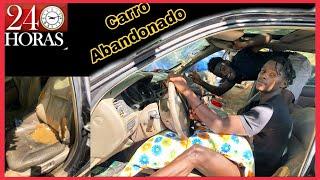 Download 24 Horas EN UN CARRO ABANDONADO | 🚗 24 hour challenges car Video