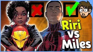 Download Why Miles Morales is Loved and Riri Williams is Hated Video