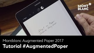 Download How to use Montblanc Augmented Paper Video