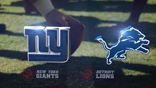 Download New York Giants vs Detroit Lions Full Game 18/09/2017 Video