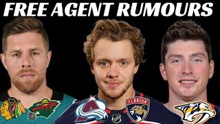 Download NHL Free Agent Rumours - Panarin, Bobrovsky, Duchene, Pavelski + more Video