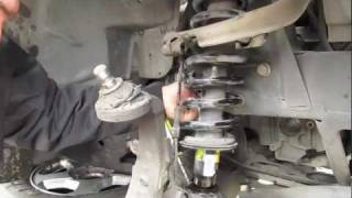 Download Replacing Struts and coils on a TrailBlazer Part: 1 Video