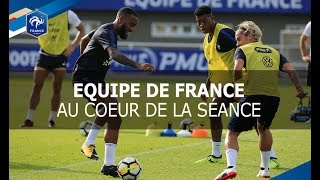 Download Equipe de France: le 1er entrainement à Clairefontaine Video